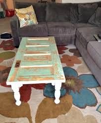 diy old doors turn into coffee table doors coffee and house