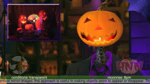halloween hologram the most crowd stunning halloween effect