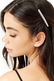 hair accesory rhinestone barrette hair clip forever21