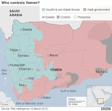 where is yemen on the map yemen crisis who is fighting whom