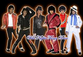 Michael Jackson Smooth Criminal Halloween Costume Fancy Dress Costume Mens Michael Jackson Billie Jean Wig Rrp