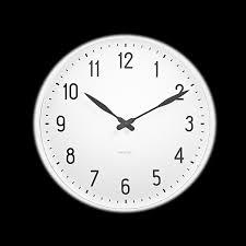 arne jacobsen wall station wall clock 48 cm