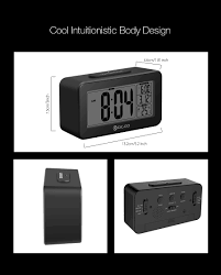 digoo dg c4 digital sensitive white backlit lcd thermometer desk