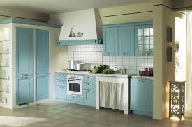 Light Blue Cabinets Concrete Countertops Light Blue Kitchen Cabinets Lighting Flooring
