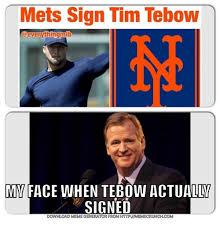 New York Mets Memes - 25 best memes about mlb tebowing and tim tebow mlb