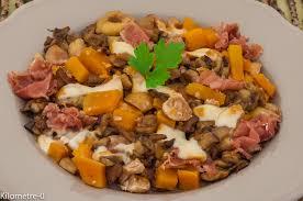 cuisiner patate douce poele patates douces aux châtaignes cèpes et jambon de parme