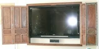 flat screen tv cabinets with doors roselawnlutheran