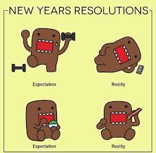 Domo Meme - new years resolutions random pinterest