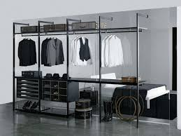 turn spare bedroom into walk in closet white polished steel wall