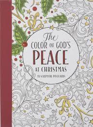 amazon com the color of god u0027s peace at christmas 9781501151958