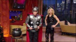 thor halloween costume live with regis and kelly kids of live halloween costume show
