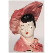 139 best lady head vases images on pinterest head planters half