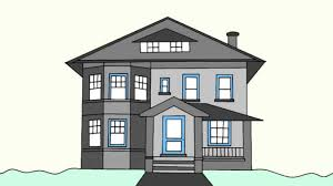 house to draw simple house drawing how to draw a house step step for beginners