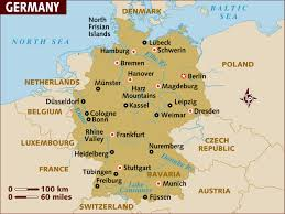 Regensburg Germany Map by A Tour Of Germany Through Its City Names