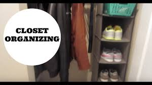 how to organize the front coat closet youtube