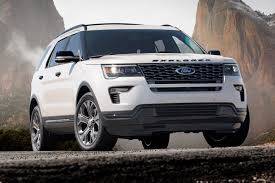 suv ford explorer ford explorer goes tech mad for 2018 by car magazine