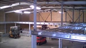 building a mezzanine floor by space solutions youtube