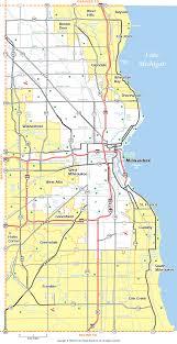 Maps Of Wisconsin by Milwaukee County Wisconsin Map