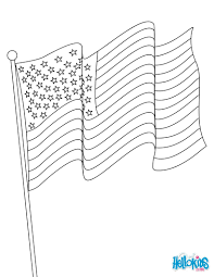 american flag coloring pages hellokids com