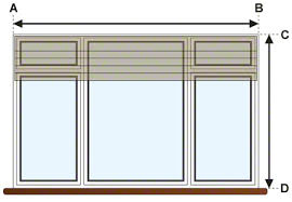 window measurements window treatments measuring measure for your window shades oc