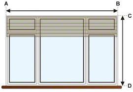 window measurements window treatments measuring measure for your window shades oc
