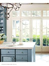 french blue kitchen cabinets kitchen french blue kitchen cabinet and white mullions on doors