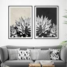 set of 2 botanical art prints tropical print botanical home