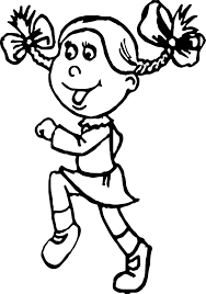 activity jogging student coloring page wecoloringpage