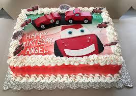 lightning mcqueen birthday cake cars lightning mcqueen birthday cake sweet tasty bakery