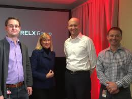 lexisnexis reed elsevier mike walsh welcomed lisa hook for innovation month town hall lextalk