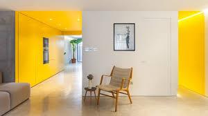 yellow kitchen design yellow kitchen brightens basement of north london home