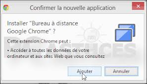 bureau distance chrome pc astuces contrôler un ordinateur à distance avec chrome