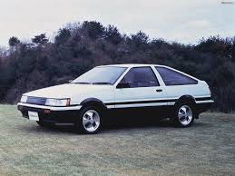 1987 toyota corolla levin related infomation specifications