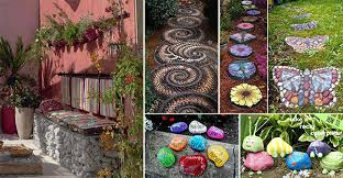 Creative Garden Decor with Best Garden Decorating Ideas Contemporary Decorating Interior