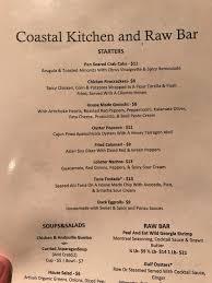 coastal kitchen st simons island ga coastal kitchen and bar simons island restaurant