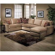 L Sectional Sofa by Jonathan Louis Benson L Shape Sectional With Raf Chaise Lounge