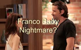 elizabeth from gh new haircut general hospital gh spoilers franco baby daddy number four for