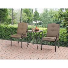 Mainstays Crossman 7 Piece Patio Dining Set Green Seats 6 - mainstays maddison heights 3 piece bistro set brown walmart com
