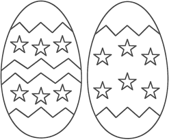 free easter eggs coloring pages printable activity sheets
