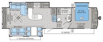 5th Wheel Camper Floor Plans 2016 Eagle Fifth Wheel Floorplans U0026 Prices Jayco Inc