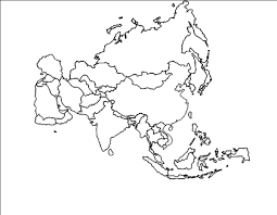 asia map coloring page best photos of asia map outline clip art asia continent map clip