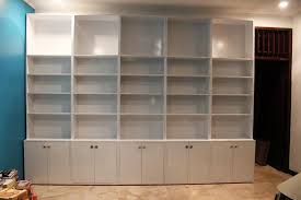 Bookcase With Doors White Cool Bookcase With Glass Doors Dans Design Magz To Buy