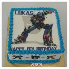 transformer cakes transformer cake for lukas jocakes