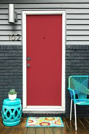 articles with best color paint front door red brick house tag
