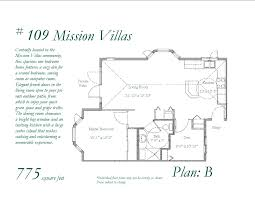 floor plans mission villasmission villas