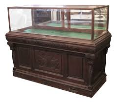 cigar table antique cigar humidor u0026 showcase by whitcomb cabinet co olde