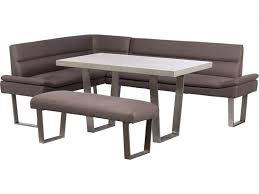 sofa bench for dining table zander rhf corner sofa dining table bench set lee longlands
