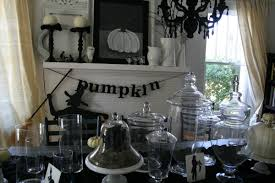 home halloween staircase wall decor come with pumpkin spooky home