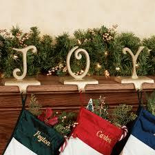 decor u0026 tips decorating seasonal christmas golden stocking holder
