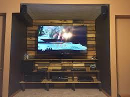 Diy Pallet Board Tv Wall Album On Imgur